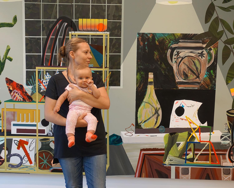Anastasia Louise Sudentas visits Morgan Lehman gallery to review paintings by Paul Wackers