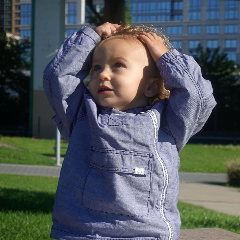 Anastasia in Riverside Park