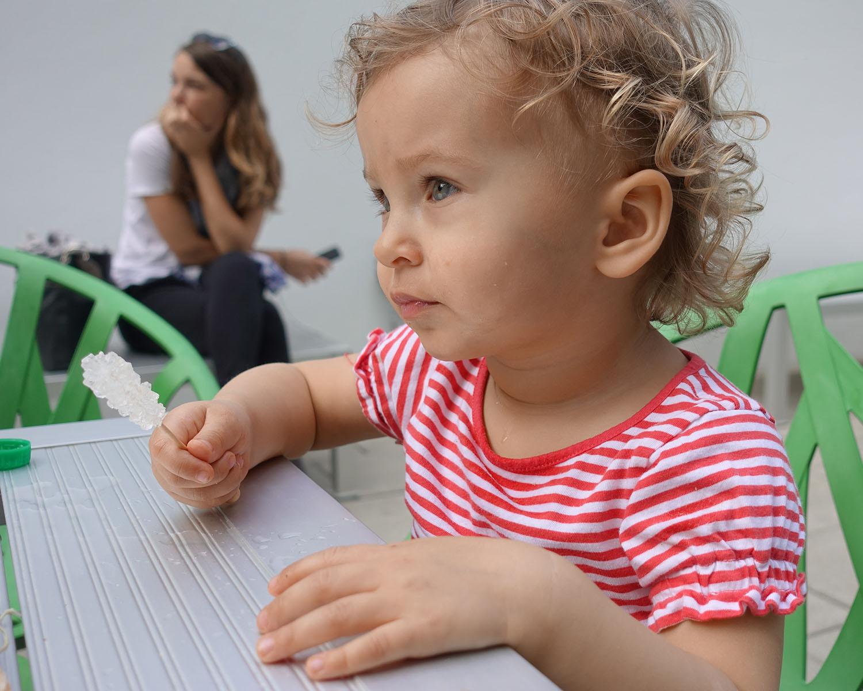 Anastasia visits de la Cruz Collection in Miami