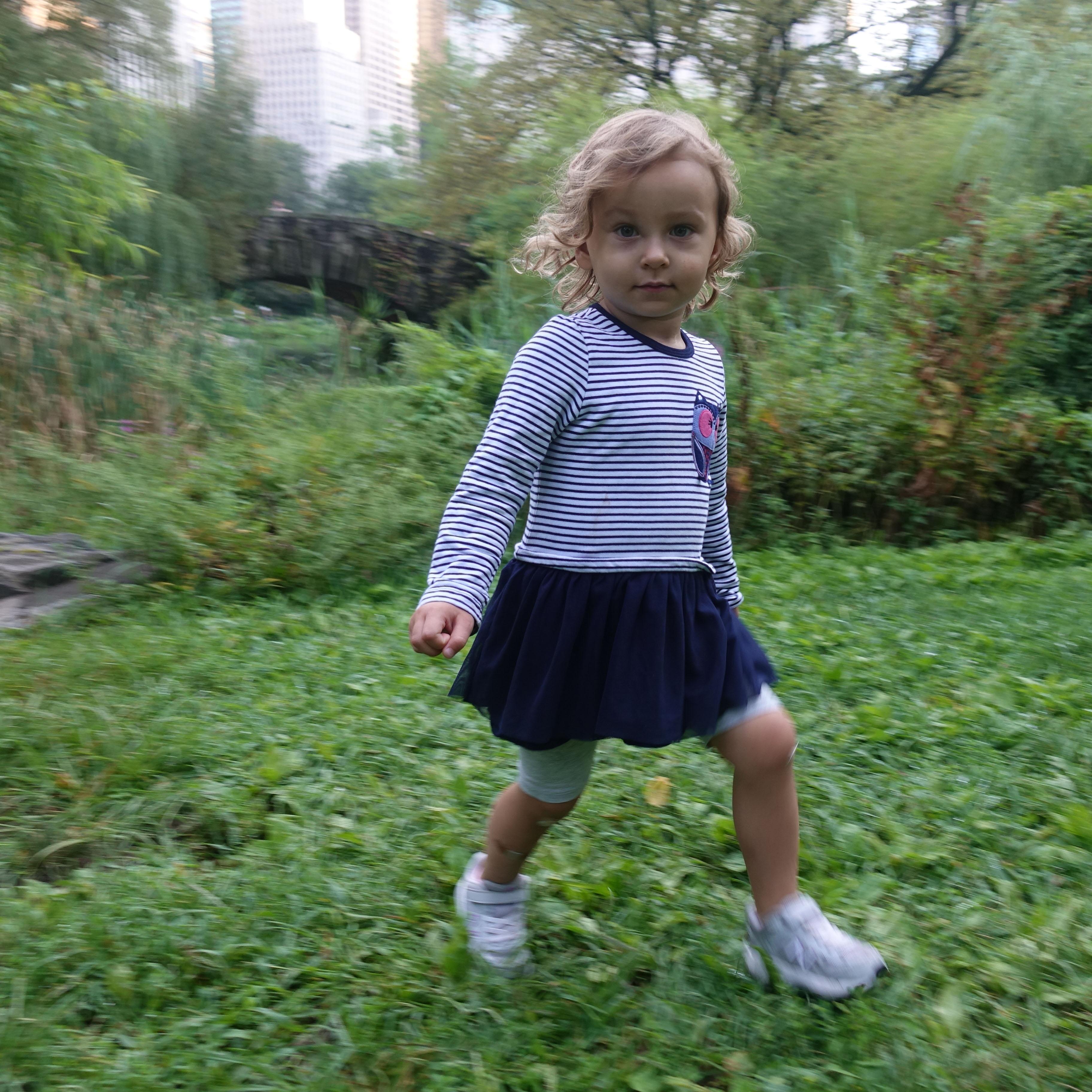 Anastasia in Central Park