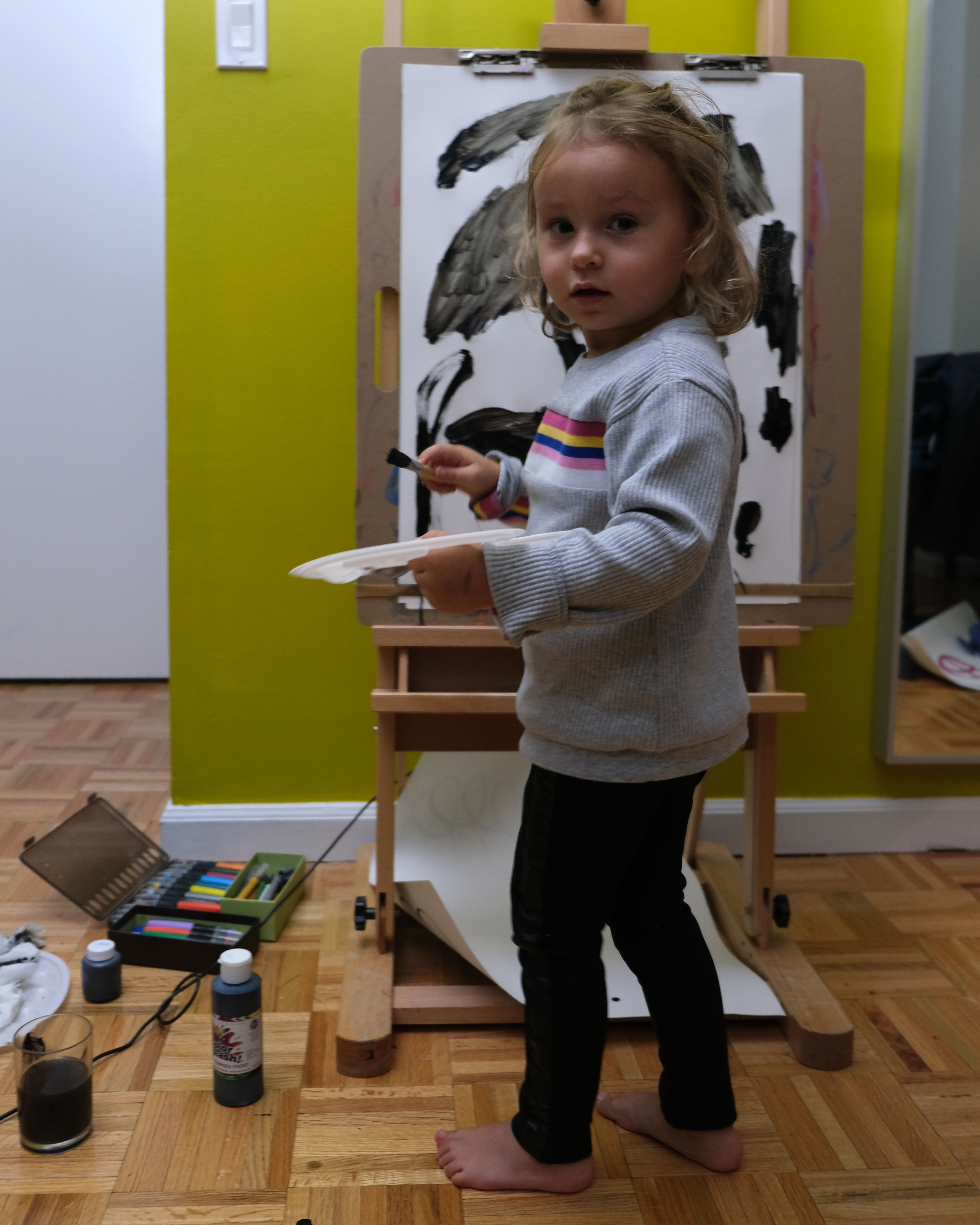 Portrait of Anastasia as a young artist