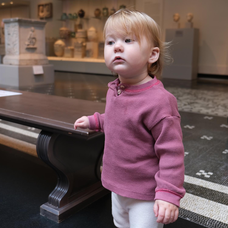 Daria at the Met Museum (What is art?)