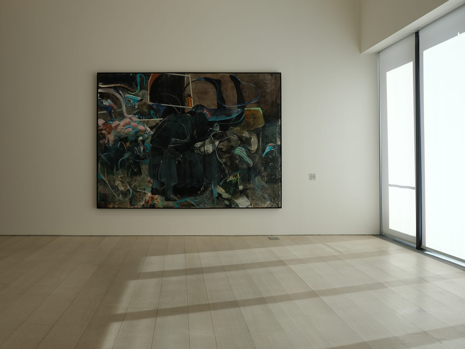 Adrian Ghenie - The Hooligans, at the Pace Gallery