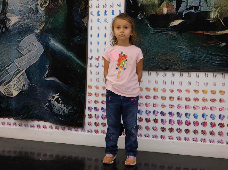 Anastasia at Spring Break Art Fair